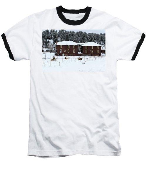 Resting Elk - 9131 Baseball T-Shirt