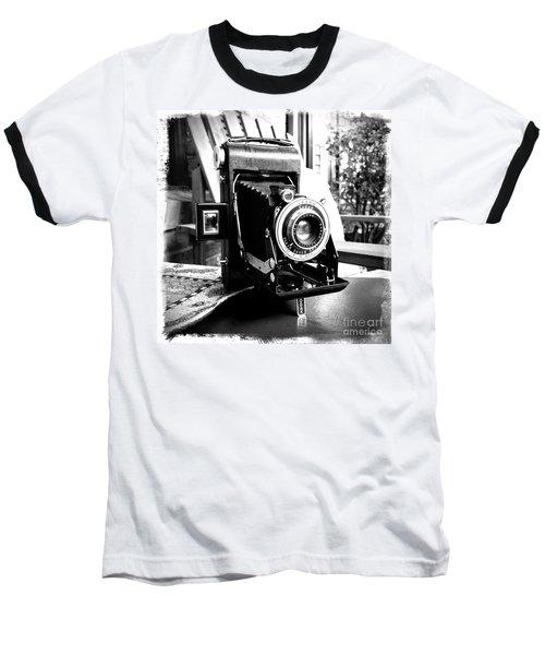 Baseball T-Shirt featuring the photograph Retro Camera by Daniel Dempster
