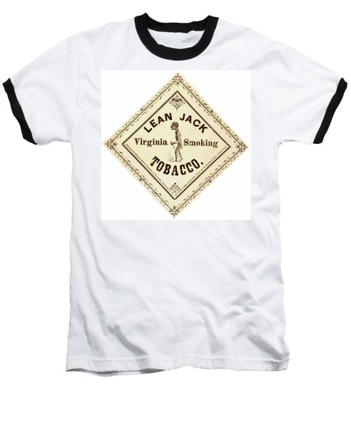 Baseball T-Shirt featuring the photograph Retro Tobacco Label 1867 A by Padre Art