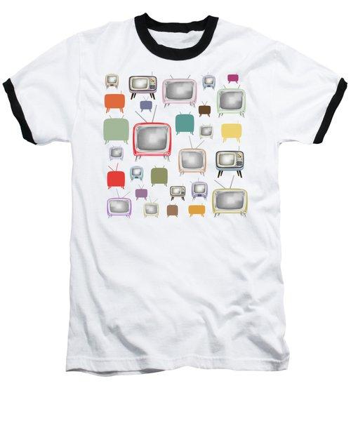 Retro T.v. Baseball T-Shirt