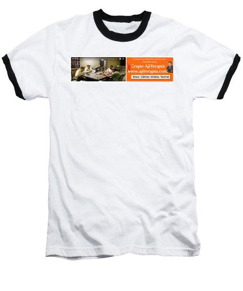 Revista Ajiterapia Baseball T-Shirt