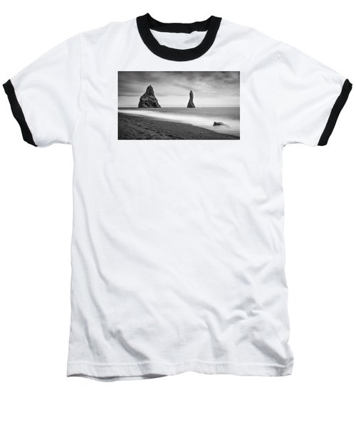 Reynisfjara  Baseball T-Shirt by Brad Grove