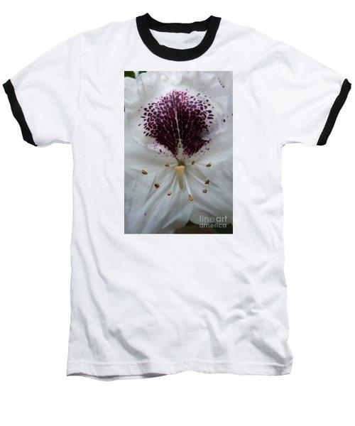 Rhododendron 2 Baseball T-Shirt by Jean Bernard Roussilhe