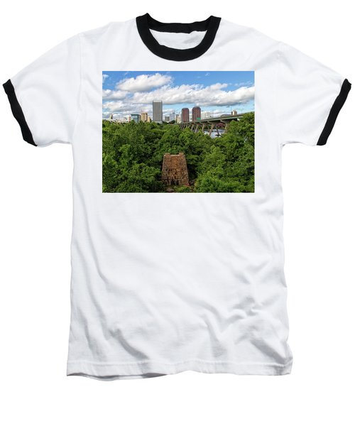 Baseball T-Shirt featuring the photograph Richmond View by Alan Raasch