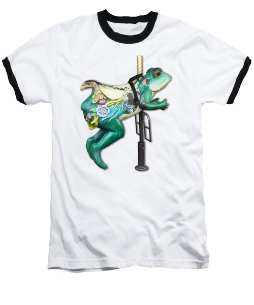 Ride The Frog Baseball T-Shirt