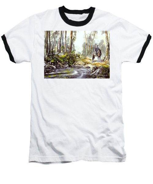 Rider By The Creek Baseball T-Shirt