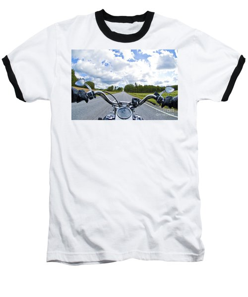 Riders Eye View Baseball T-Shirt