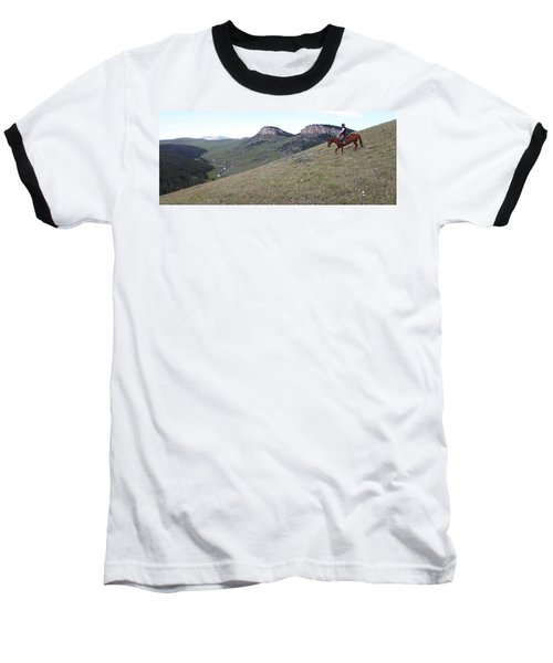 Ridge Riding Baseball T-Shirt