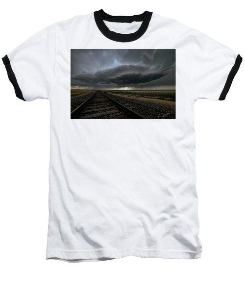 Right On Track Baseball T-Shirt