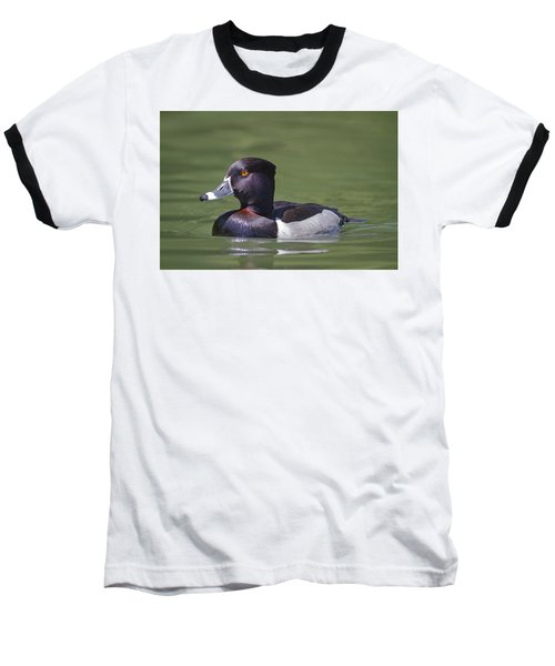 Ring-necked Duck Profile Baseball T-Shirt