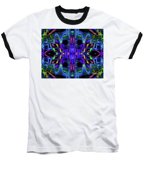 Rings Of Fire Dopamine #156 Baseball T-Shirt by Barbara Tristan