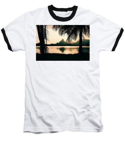 Rio De Janeiro, Brazil Landscape Baseball T-Shirt