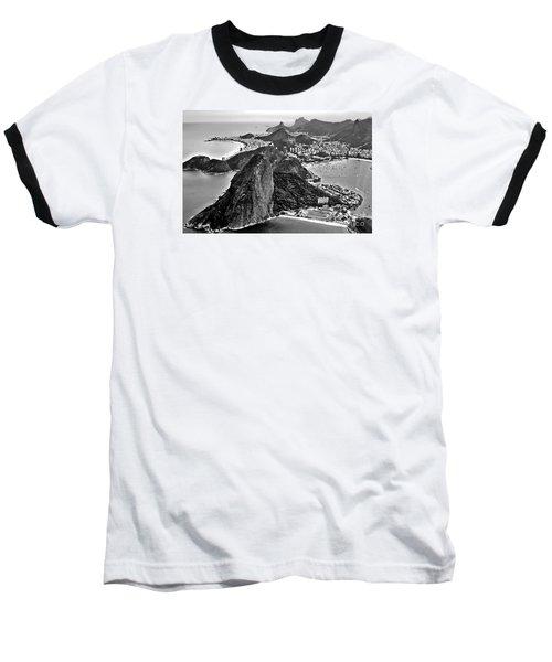 Rio De Janeiro - Sugar Loaf, Corcovado And Baia De Guanabara Baseball T-Shirt