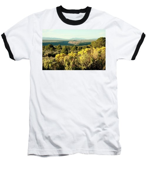 Baseball T-Shirt featuring the photograph Rio Grande Gorge by Jim Arnold