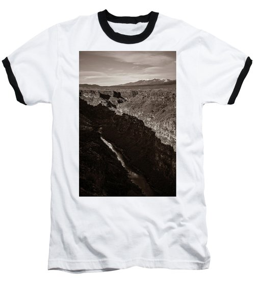 Baseball T-Shirt featuring the photograph Rio Grande River Taos by Marilyn Hunt