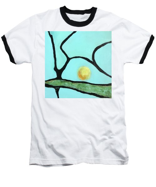 Baseball T-Shirt featuring the painting Ripening IIi by Mary Sullivan