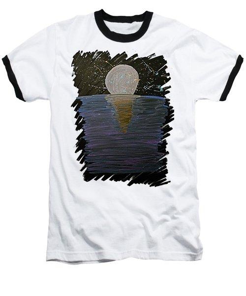 Rising Moon Baseball T-Shirt
