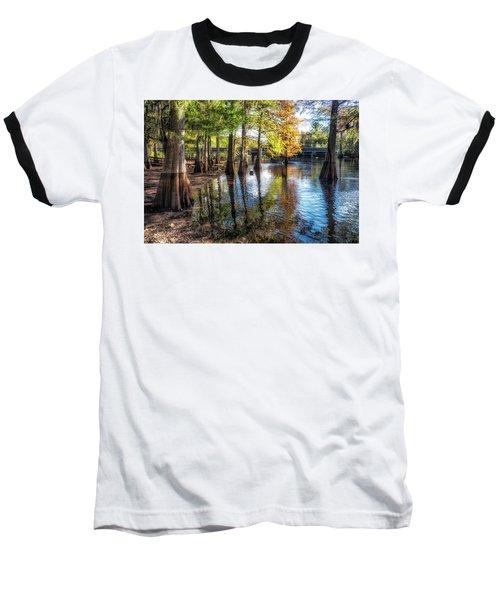 River Eeriness Baseball T-Shirt