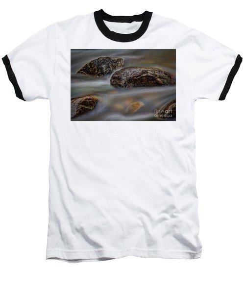 River Magic 2 Baseball T-Shirt by Douglas Stucky