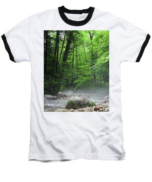 River Mist Baseball T-Shirt