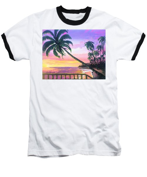 River Road Sunrise Baseball T-Shirt