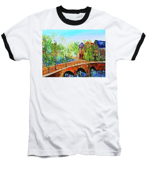 River Runs Through It Baseball T-Shirt