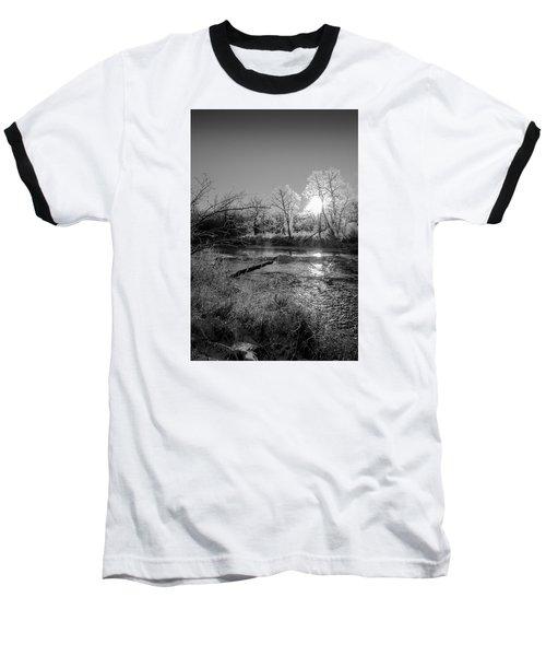 Rivers Edge Baseball T-Shirt by Annette Berglund