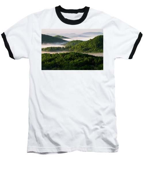 Rivers Of White Baseball T-Shirt