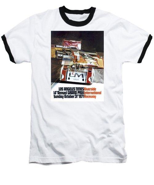 Riverside Can-am Baseball T-Shirt by Peter Chilelli