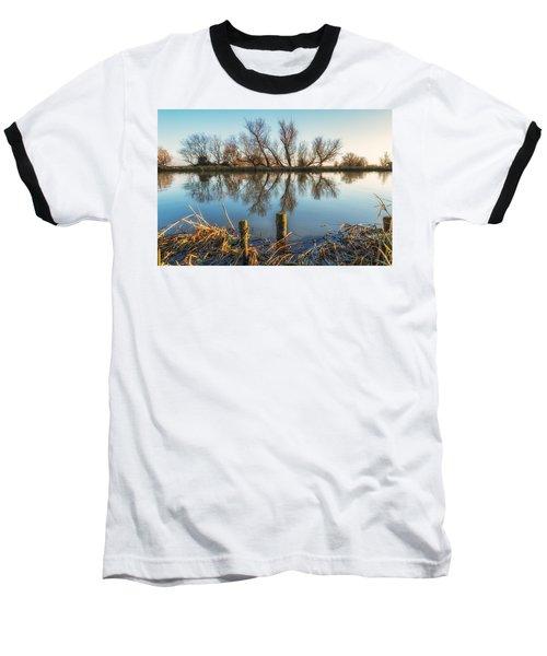 Riverside Trees Baseball T-Shirt