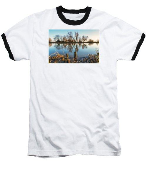 Riverside Trees Baseball T-Shirt