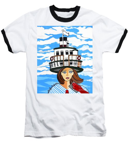 R.m.s. Segwun - Delivering The Mail  Baseball T-Shirt