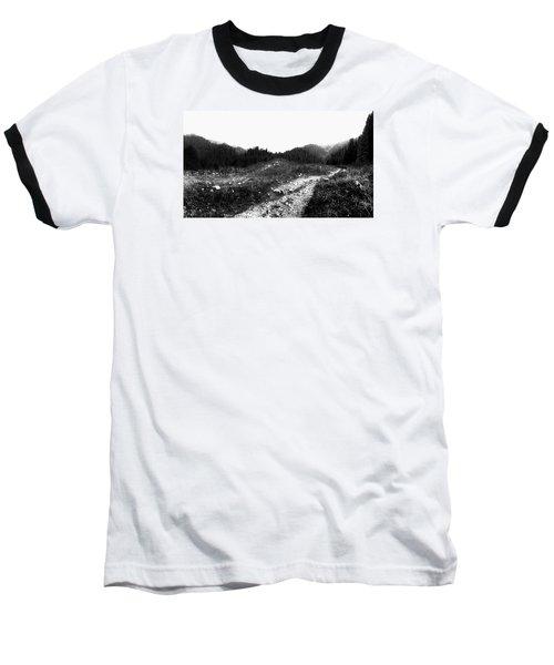 Baseball T-Shirt featuring the photograph Road by Hayato Matsumoto