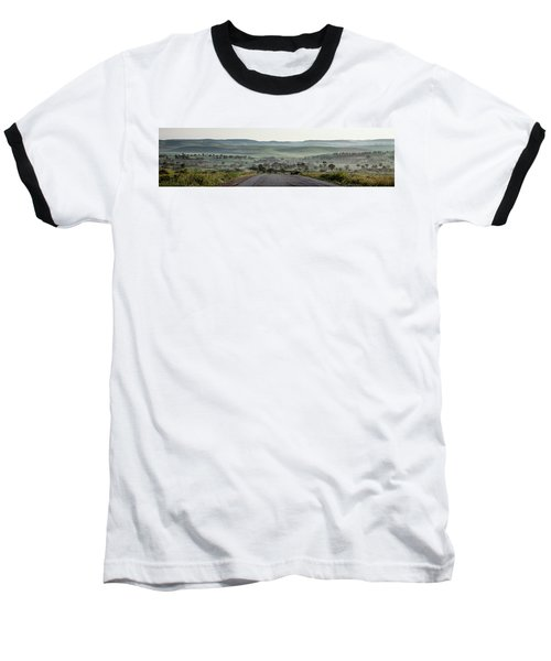 Road To The Forest Baseball T-Shirt by Yoel Koskas