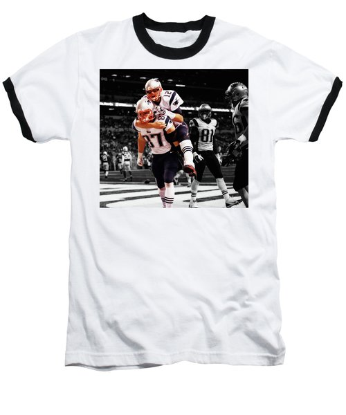 Rob Gronkowski And Tom Brady Baseball T-Shirt