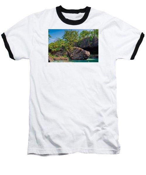 Rock And Trees Baseball T-Shirt