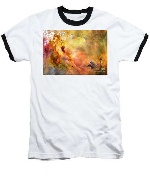 Baseball T-Shirt featuring the photograph Rock Of Ages by Annie Zeno