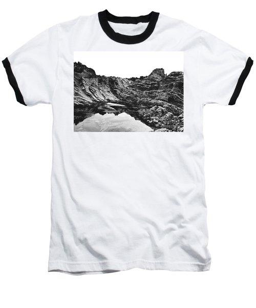 Baseball T-Shirt featuring the photograph Rock by Rebecca Harman