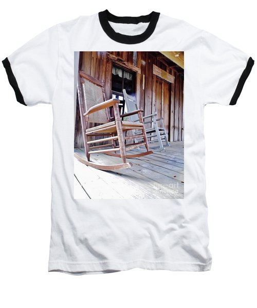 Rocking On The Front Porch Baseball T-Shirt