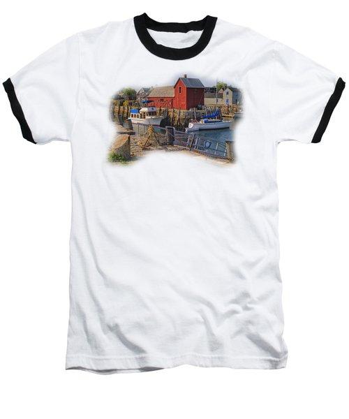Rockport Waterfront Baseball T-Shirt