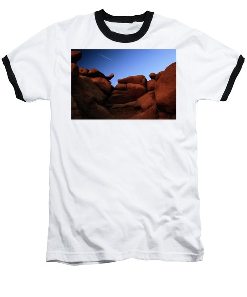 Rocks And Sky At Goblin Valley  Utah Baseball T-Shirt