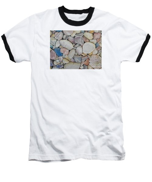 Beach Rocks, Mexico Baseball T-Shirt