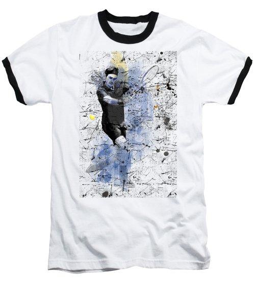Roger Federer Baseball T-Shirt