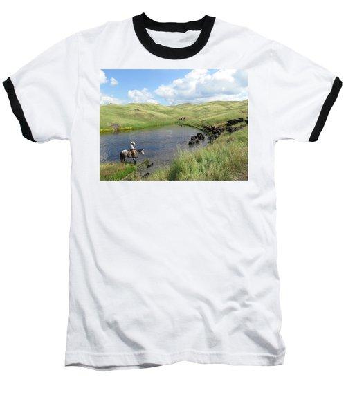 Rolling Hills Baseball T-Shirt by Diane Bohna
