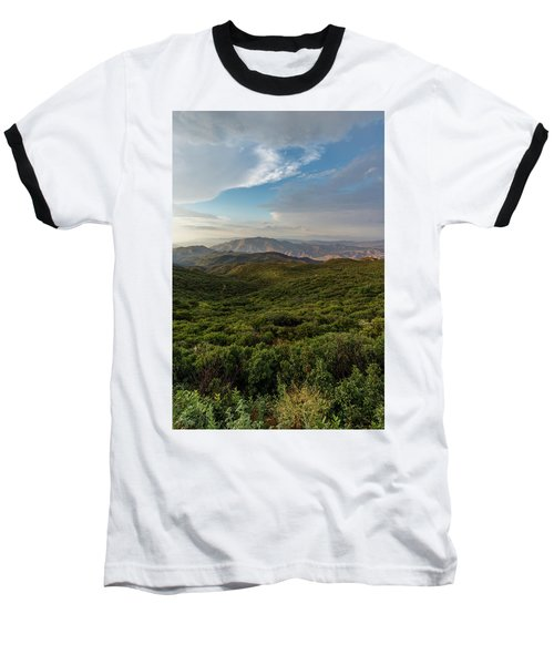 Rolling Hills Of Chaparral Baseball T-Shirt