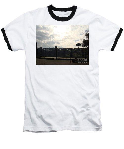 Roma, Villa Borghese Baseball T-Shirt