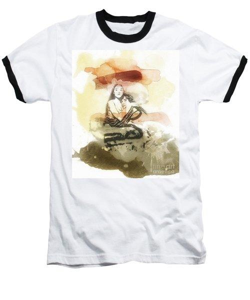 Romeo And Juliet Baseball T-Shirt by Mo T