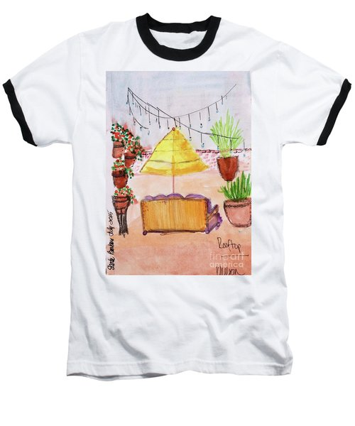 Rooftop At The Canary Baseball T-Shirt