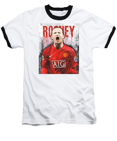 Rooney Baseball T-Shirt by Jeff Gomez