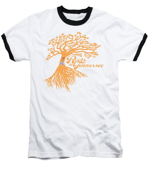 Baseball T-Shirt featuring the photograph Roots In Tn Orange by Heather Applegate